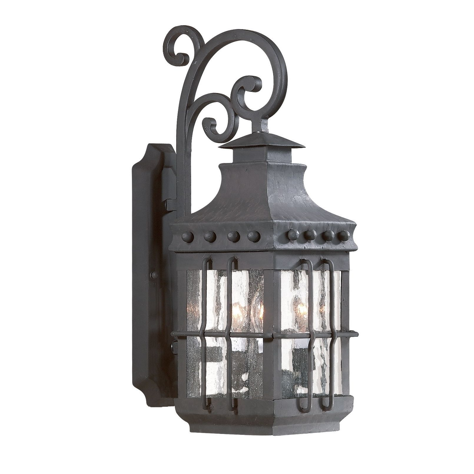 Troy Lighting Dover 3-light Wall Lantern