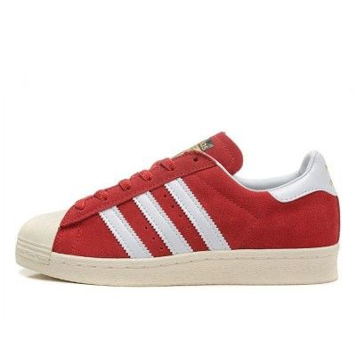 Authentic Unisex Adidas Originals Superstar Red White B25962