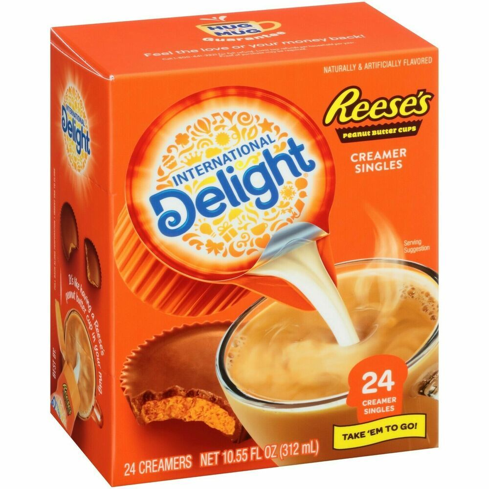 International delight reeses peanut butter cup creamer