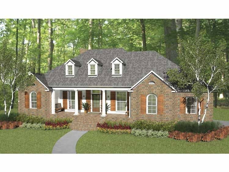 New American House Plan with 1990 Square Feet and 3 Bedrooms ... on 1990s split level house, 1990s victorian house, 1990s craftsman house, 1990s single story house, 1990s tudor house, 1990s beach house,
