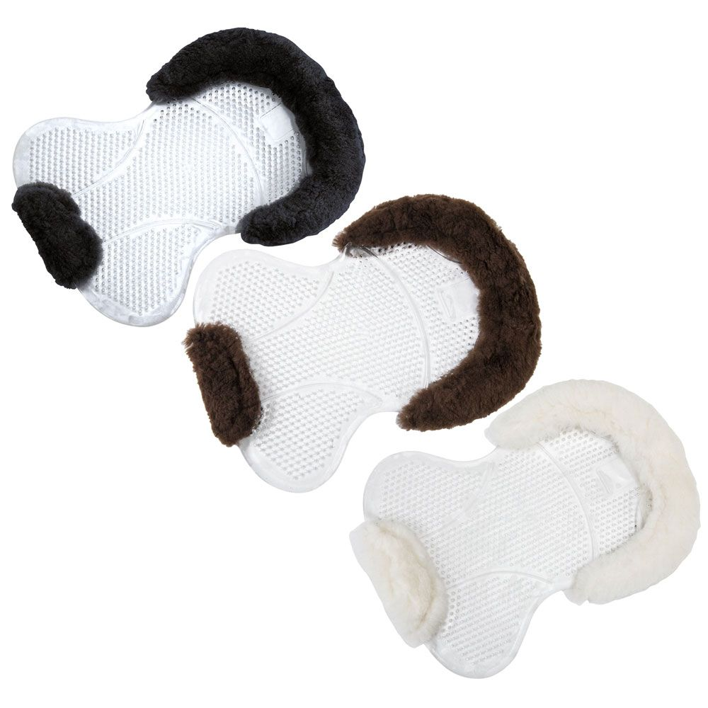 The Norton Gel And Sheepskin Back Pad Is A NonSlip Half Pad Made