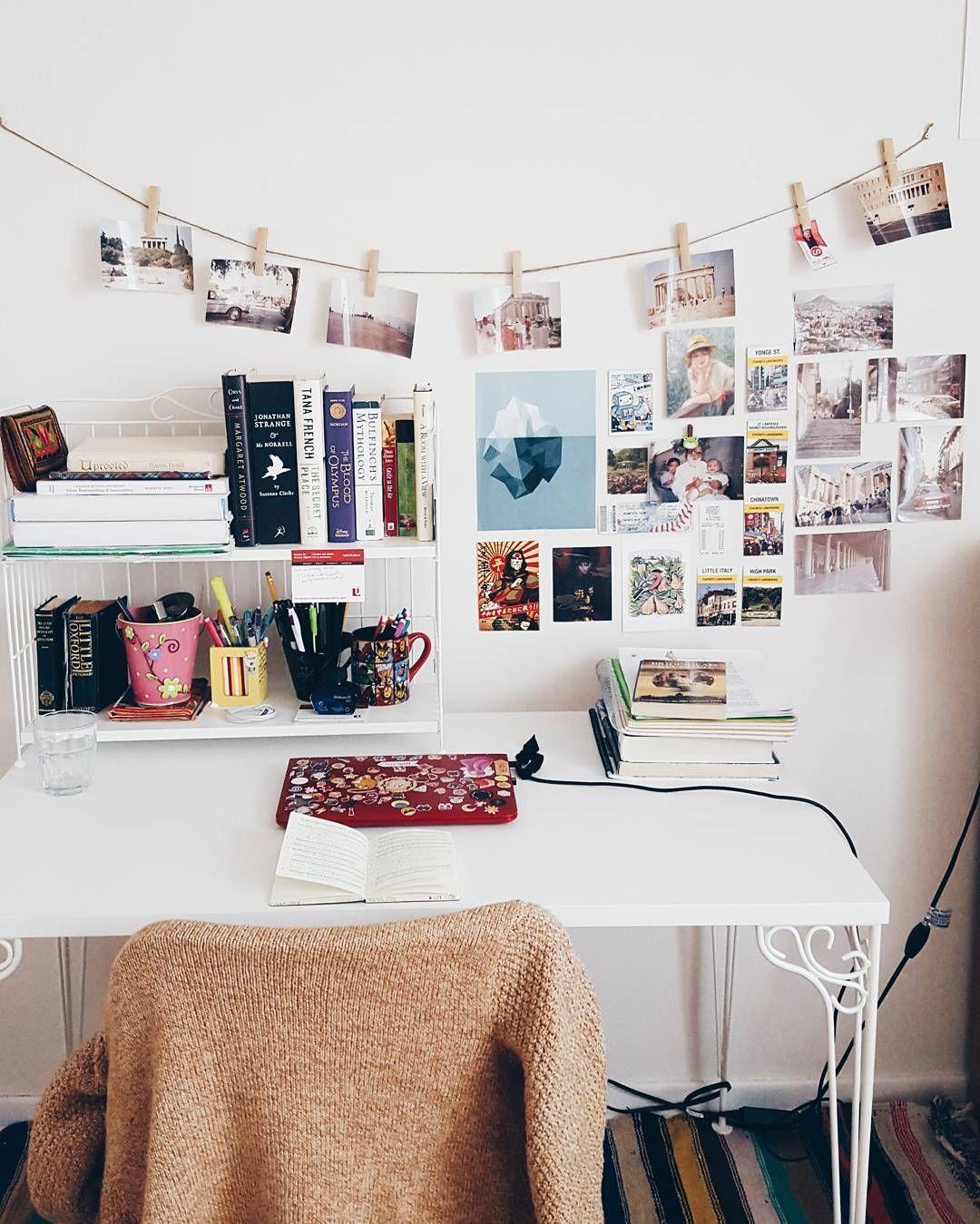 pin von isabella auf h o m e pinterest arbeitspl tze zimmerdeko und einrichten und wohnen. Black Bedroom Furniture Sets. Home Design Ideas