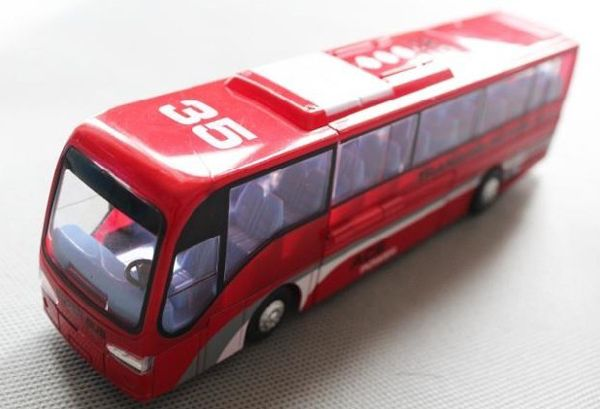 Kids Red Blue White Transformers City Bus Toy With Images Red And Blue Red White Blue