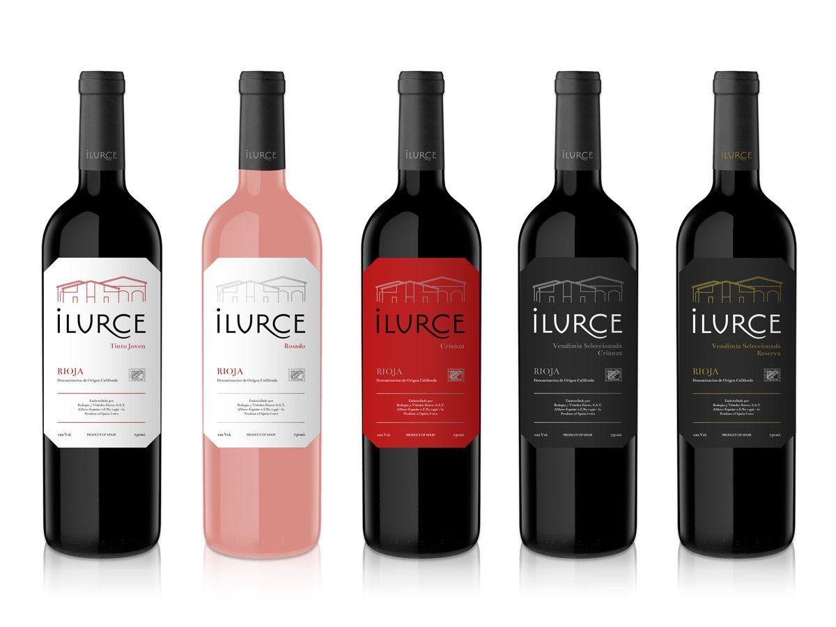 Ilurce Wine Wine Wine Label Design Wine Drinks