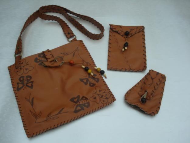 predominante disfruta del precio inferior disponible marroquineria artesanal (cuero)   Bolsos de cuero, Cuero y ...