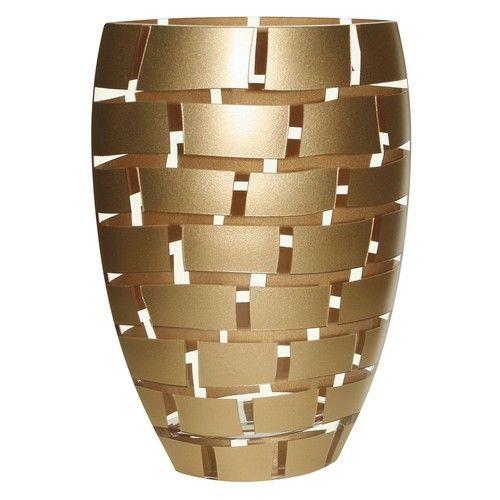 Gold Wall Glass Vase Cd750 Gold Walls