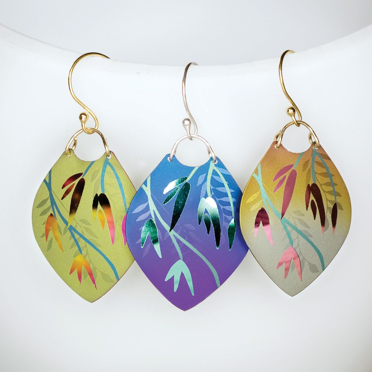 Mystic Summer earrings available from Holly Yashi