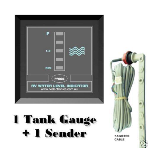 Details About Caravan Water Tank Level Indicator Gauge 7 5m Sender Camper Boat Motorhome Black Camper Boat Motorhome Water Tank