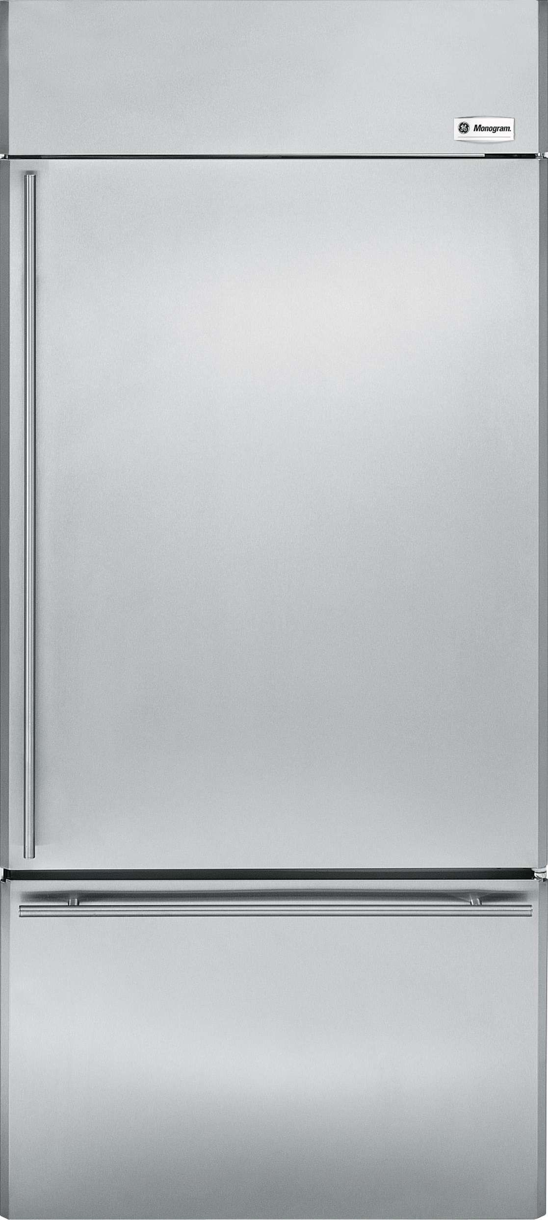 Lowest Price On Ge Monogram Zics360nhrh 36 20 6 Cu Ft Stainless Steel Built In Bottom Freezer Refrigerator Energy Star Today