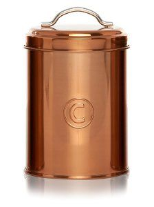 Buy George Home Copper Canister Set From Our Kitchen Storage Range