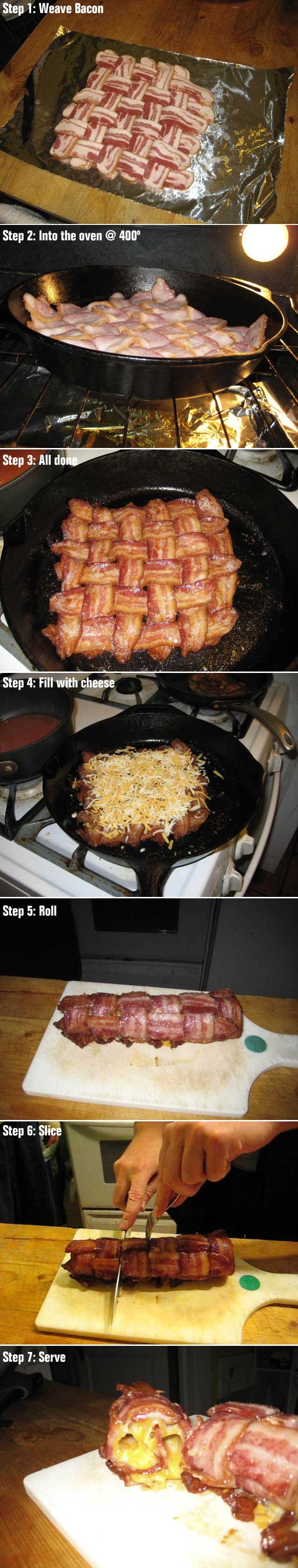 gourmetbacon. oh my :)