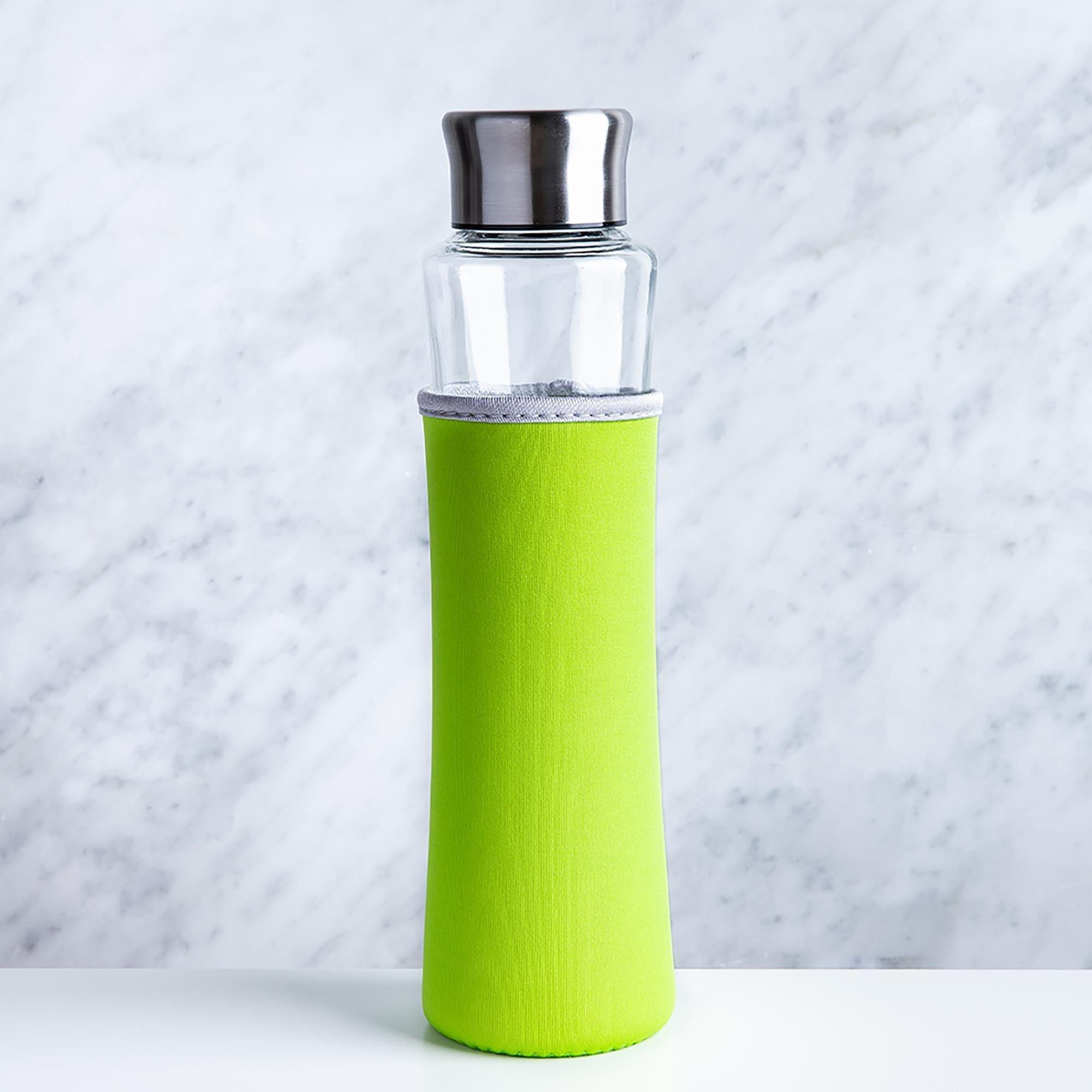 KSP Verra Glass Water Bottle (Green)   Water Bottles (Back to School