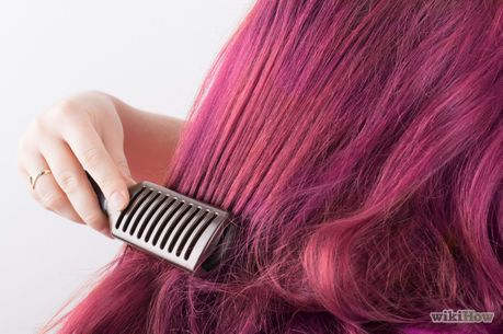 How To Temporarily Dye Hair With Food Dye 13 Steps Food Coloring Hair Dye Food Coloring Hair Diy Hair Dye