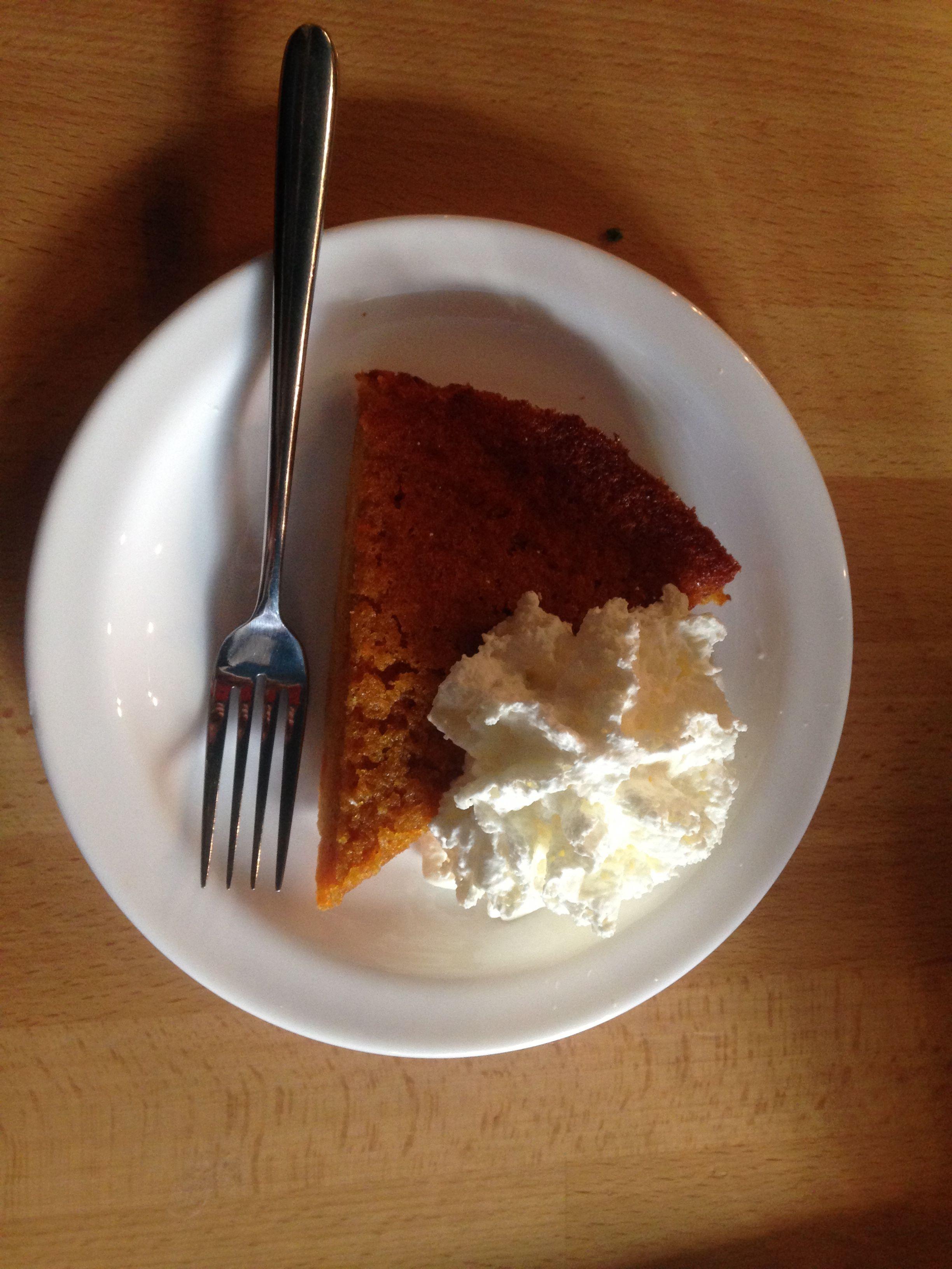 морковный пирог кафе общество чистых тарелок