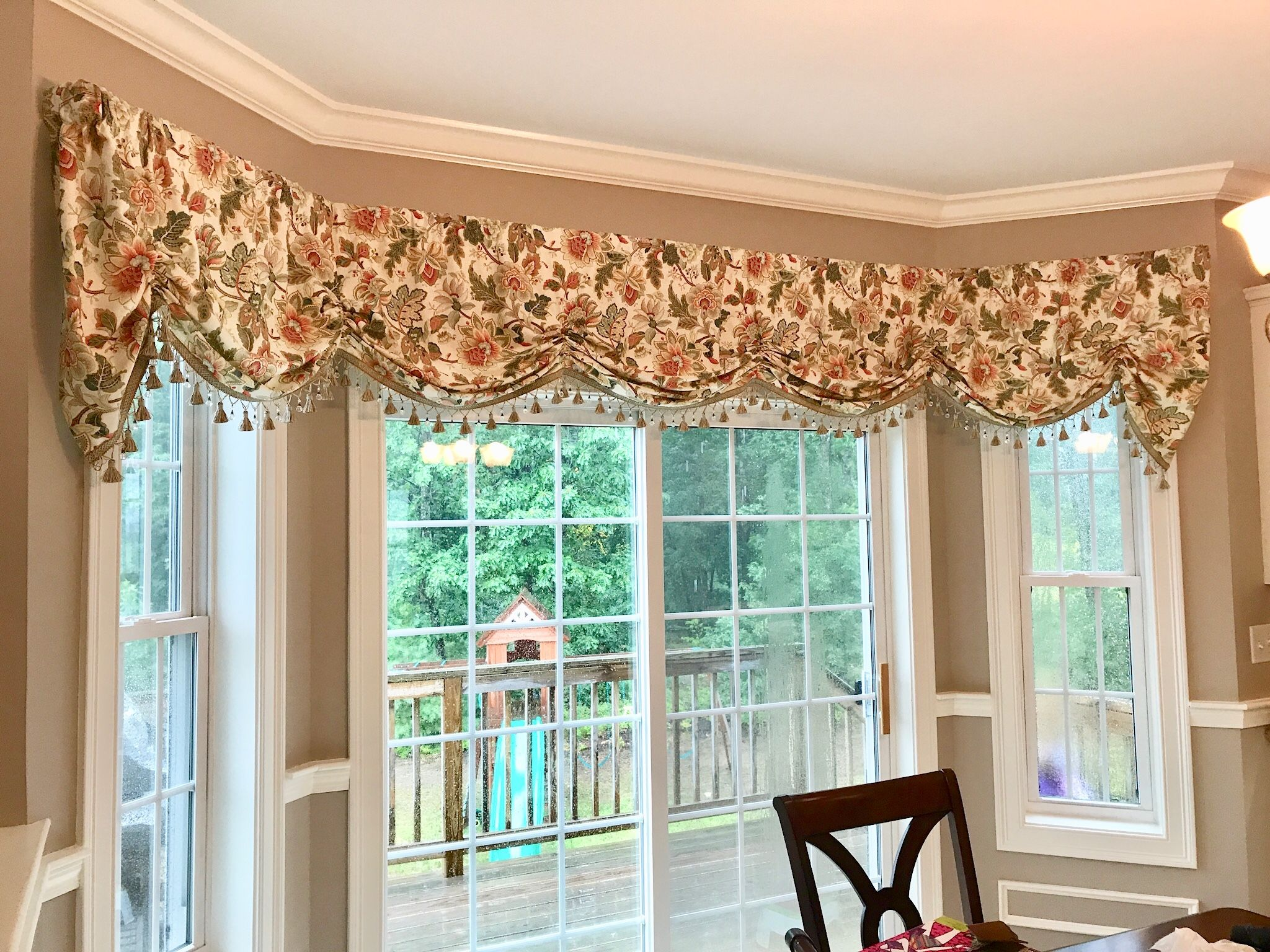 Bay window Marcelle Valance Not Just Curtains   Dining ...