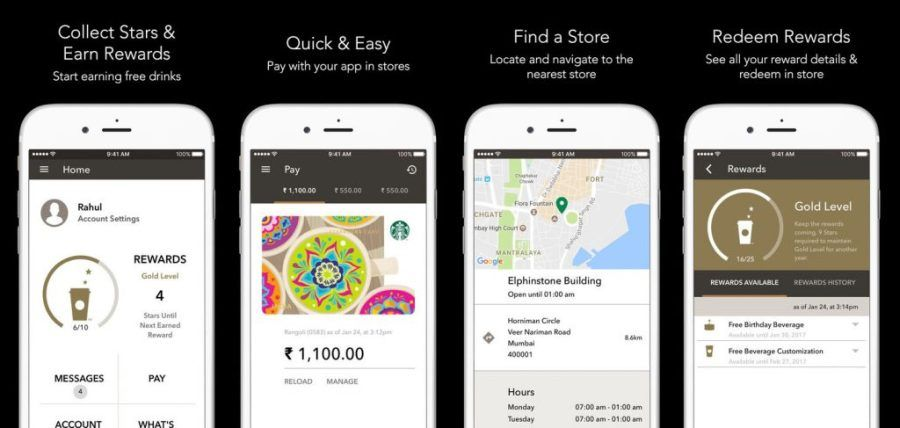 Starbucks Introduces Mobile Payment Through The Starbucks India