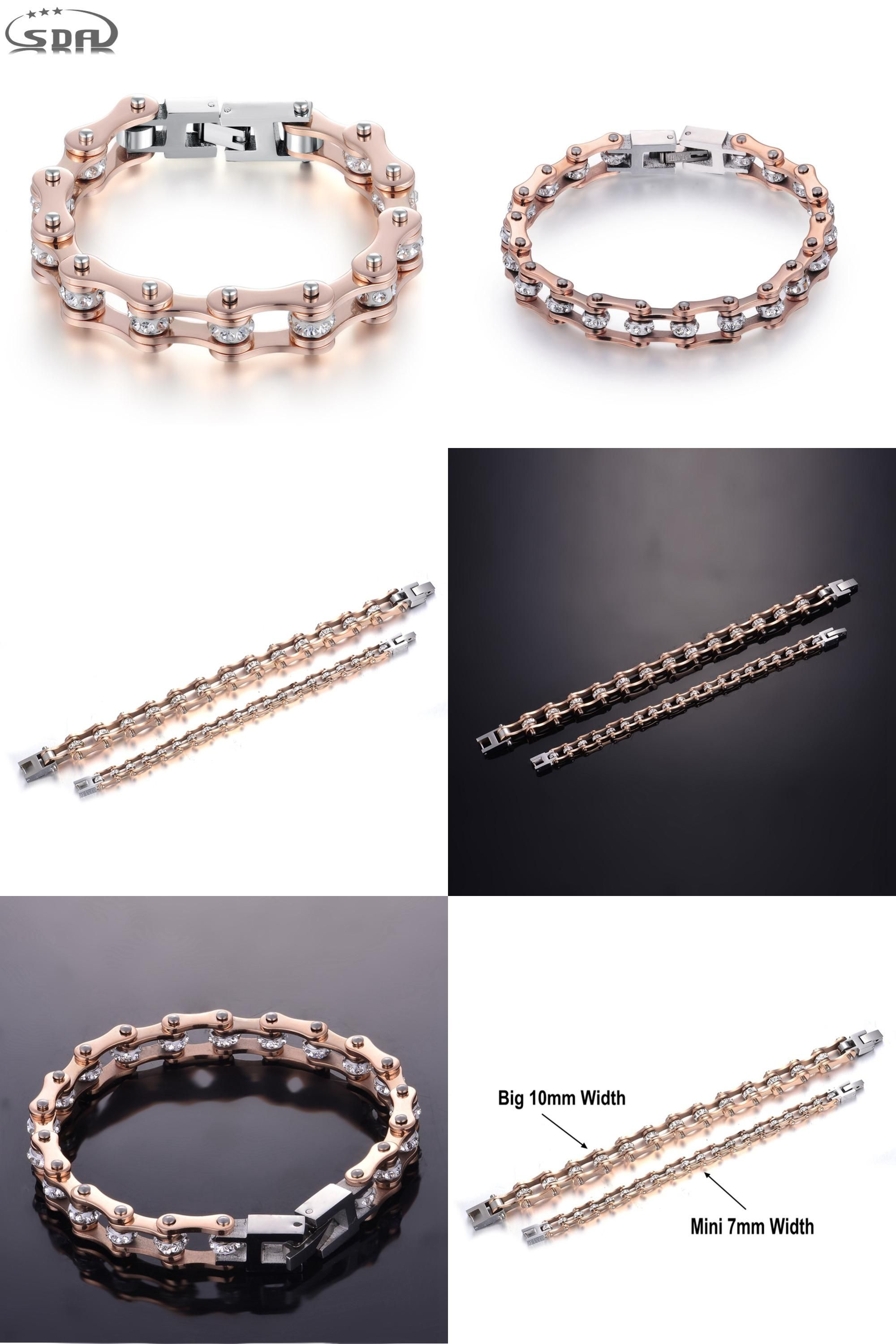 823a9dfd77e2d Visit to Buy] High Quality IP Rose Gold Color crystal Motorcycle ...
