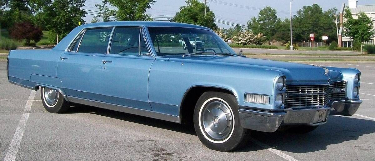 1966 Cadillac Fleetwood Brougham Maintenance of old vehicles: the ...