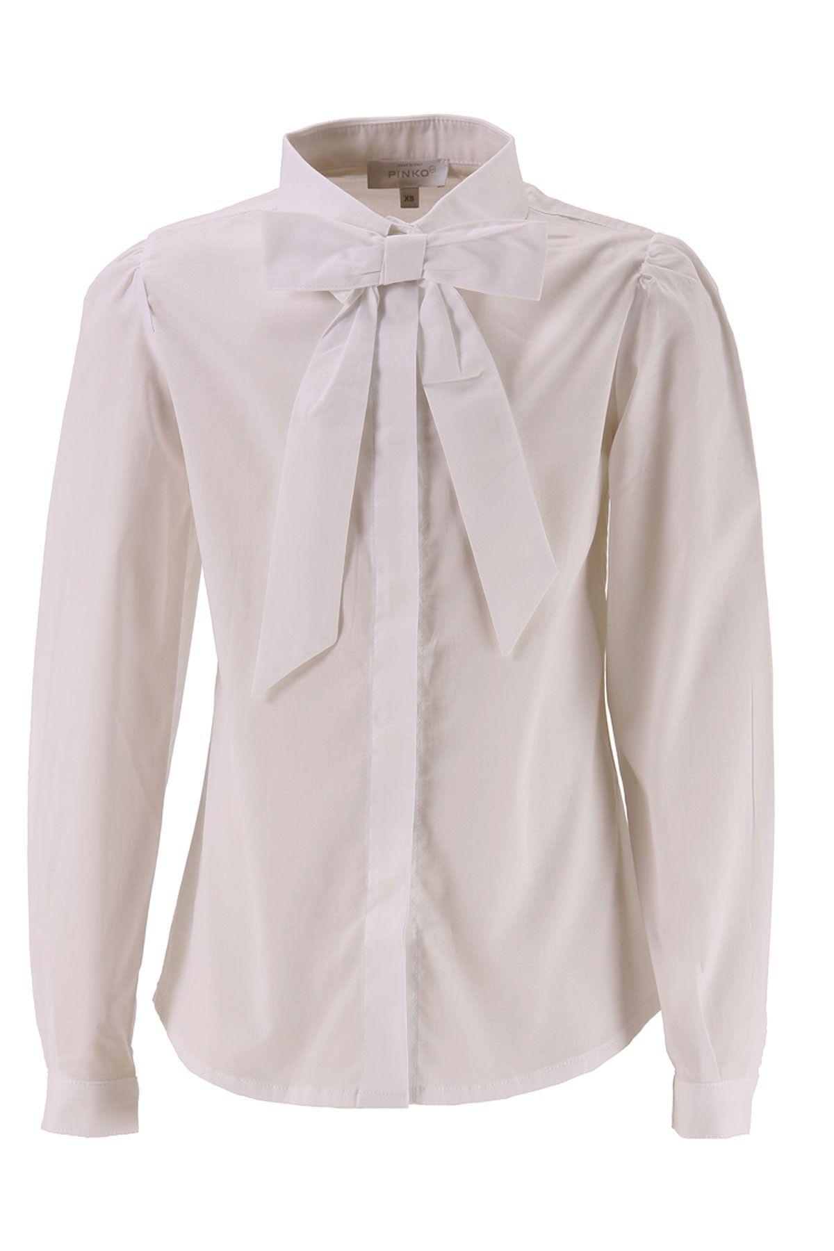 5837374ad9 PINKO UP CAMICIA MARIUCCIA | PINKO UP CLOTHES | Ruffle blouse ...
