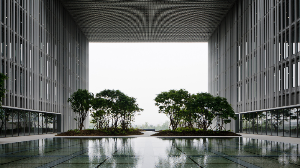 David Chipperfield Architects Completes Office With Hanging Gardens In Seoul David Chipperfield Architects British Architecture Architecture