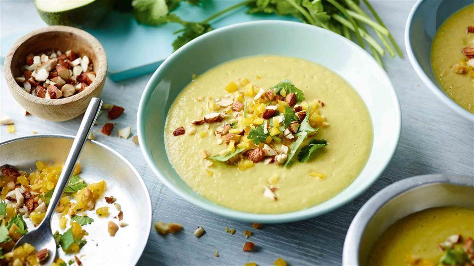 Zupa Z Awokado Z Migdalami Przepis Recipe Recipes Dinner Time Food