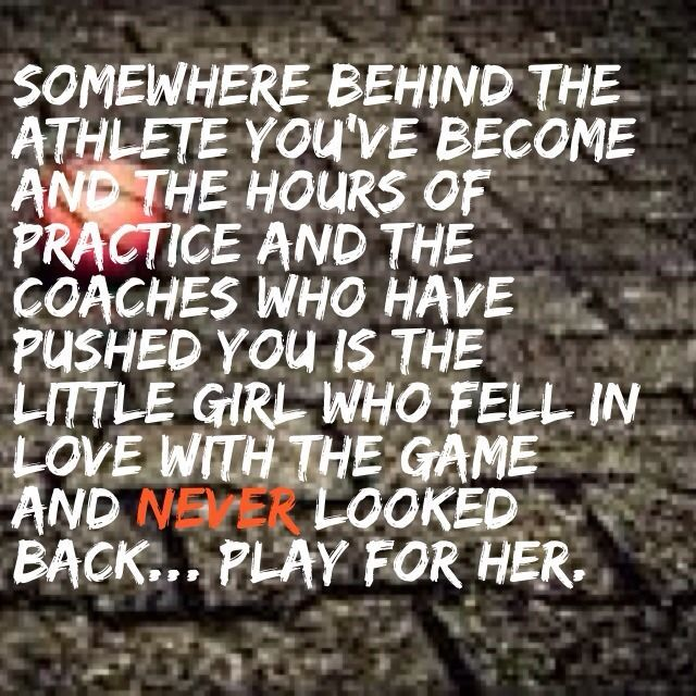 Somewhere Behind The Athlete You Ve Become The Hours Of Practice Basketball Quotes Sport Quotes Athlete Quotes