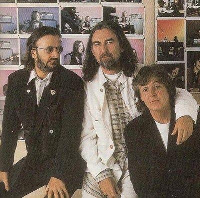Paul, George & Ringo