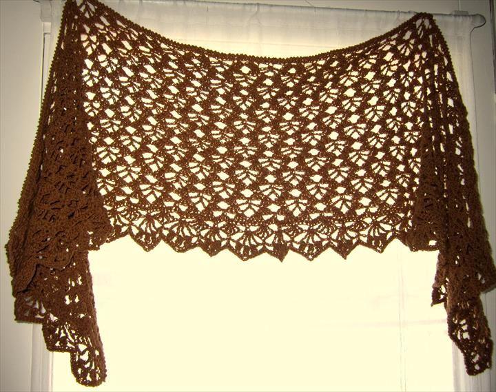 18 Quick & Easy Crochet Shawl Pattern | Chal, Ponchos y Verano