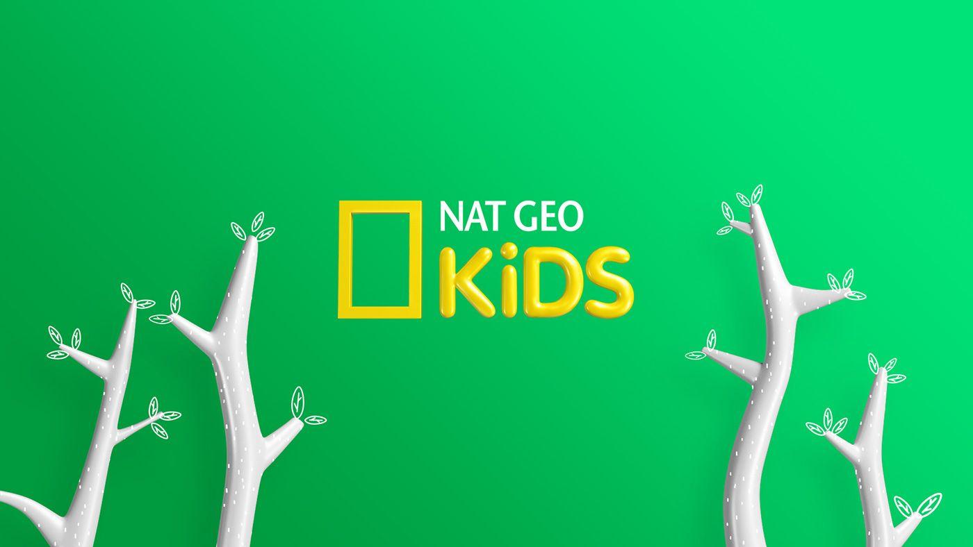 Nat Geo Kids on Behance Filmes, Nat geo