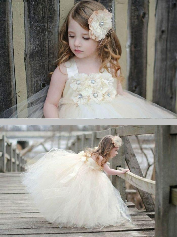 Robes petites filles d'honneur pour mariage