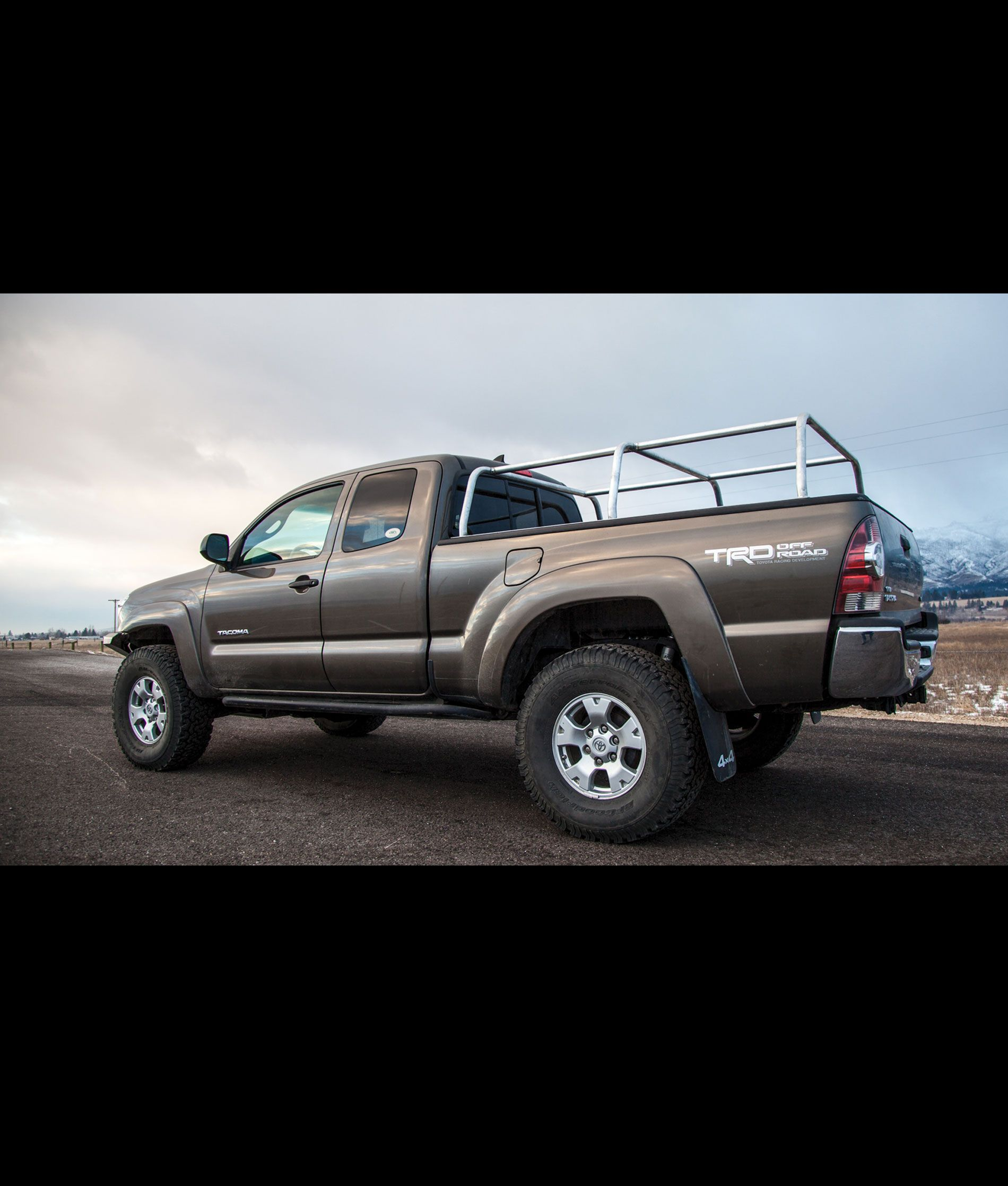 0515 APEX Steel Pack Rack KIT Roof top tent, Top