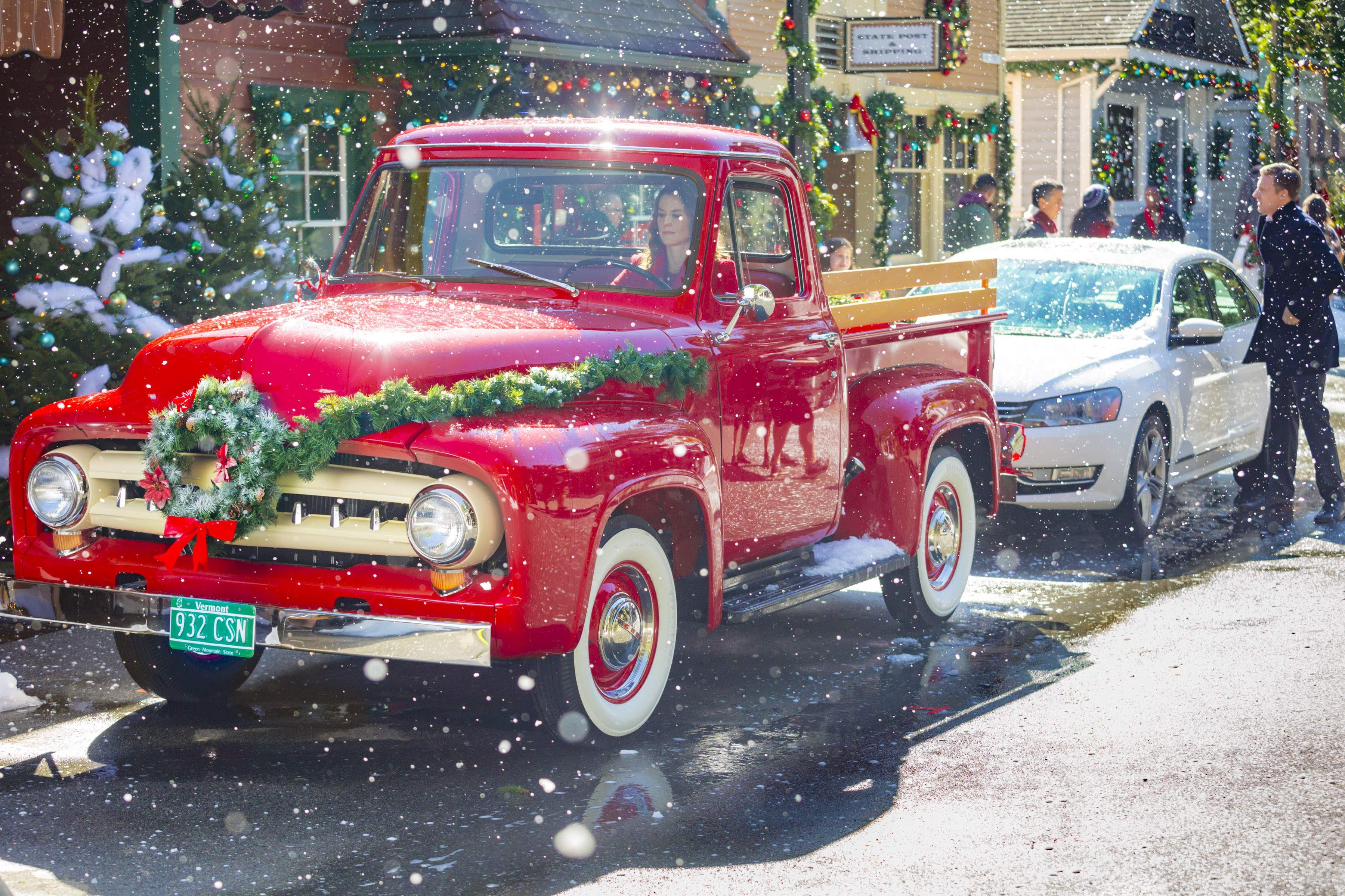 Christmas In Evergreen 2020 Cast hallmark evergreen truck | Hallmark's 'Christmas in Evergreen