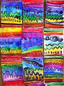 Distintos tipos de lineas y color.