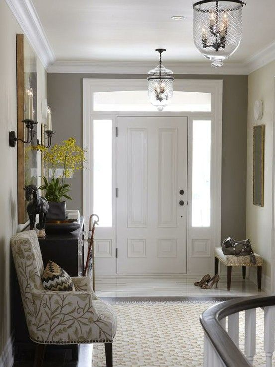 Great Entryway For 9 Ft Ceilings With
