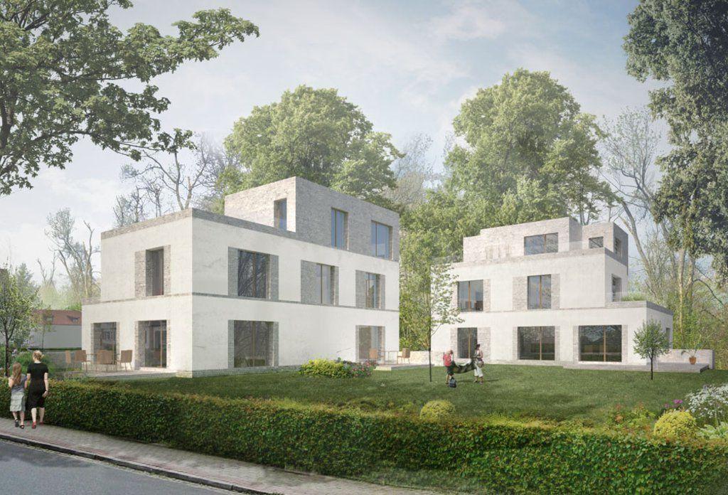 mehrfamilienhaus haraldstrasse essen krupp stiftung 1 architecture interiors pinterest. Black Bedroom Furniture Sets. Home Design Ideas