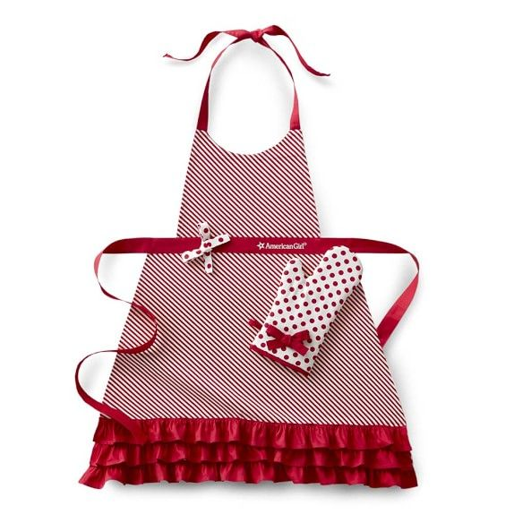 ea6a4902d11 American Girl™ Holiday Adult Apron & Oven Mitt Set | Sew Cute ...