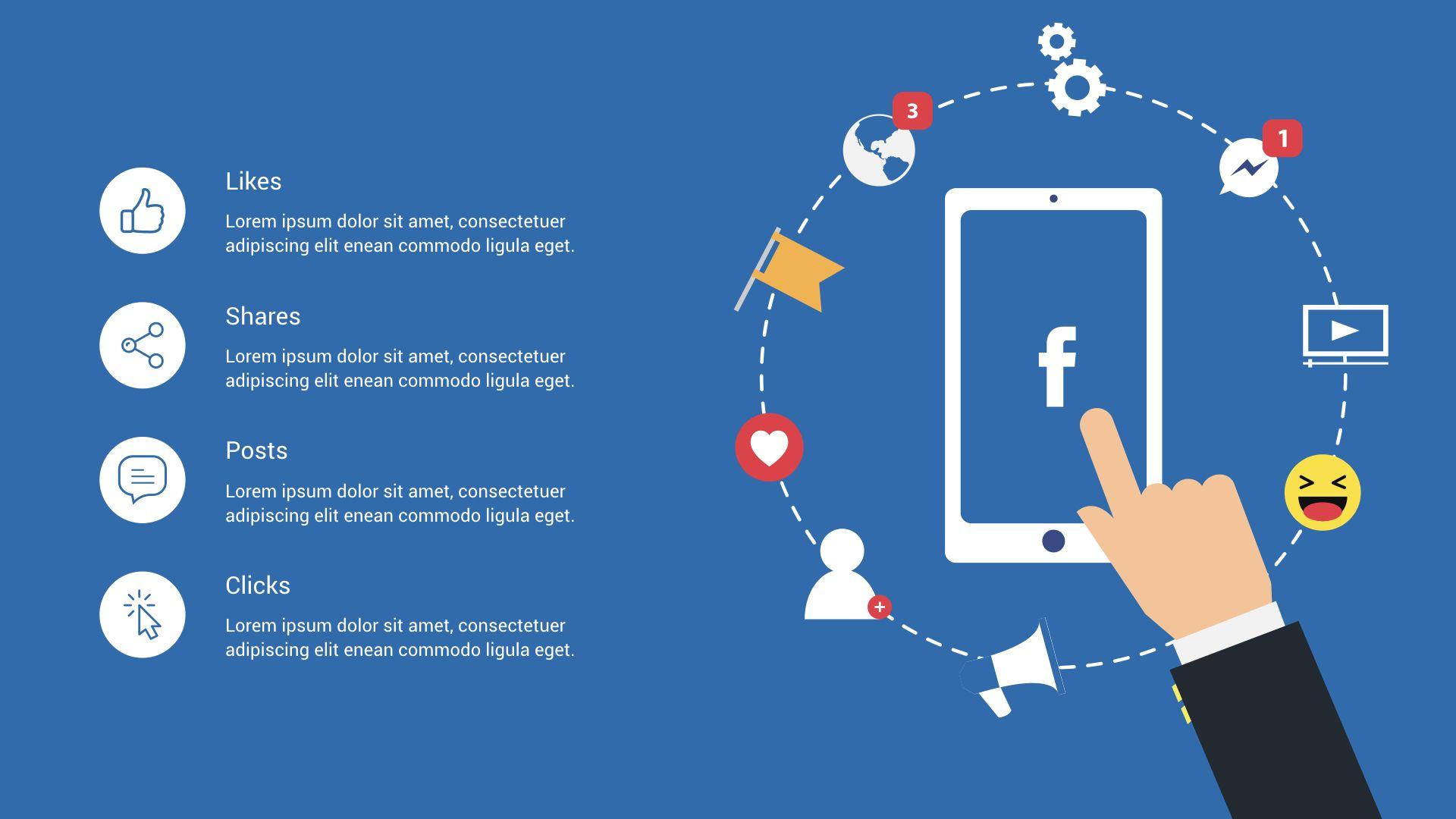 Digital Marketing And Social Media 2 Keynote Presentation