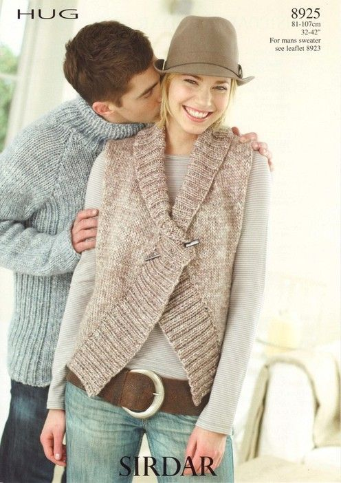 Quick and Easy | My Style | Pinterest | Tejido, Chalecos tejidos y ...