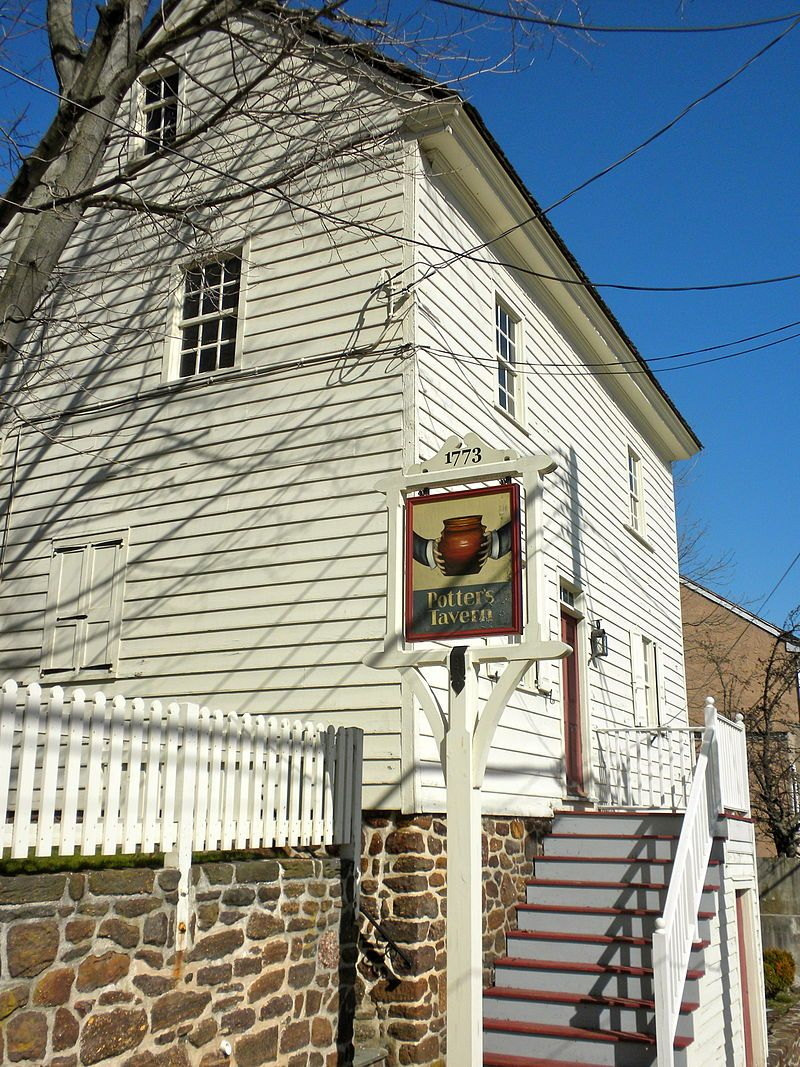 Potter's Tavern in Cumberland County, New Jersey.