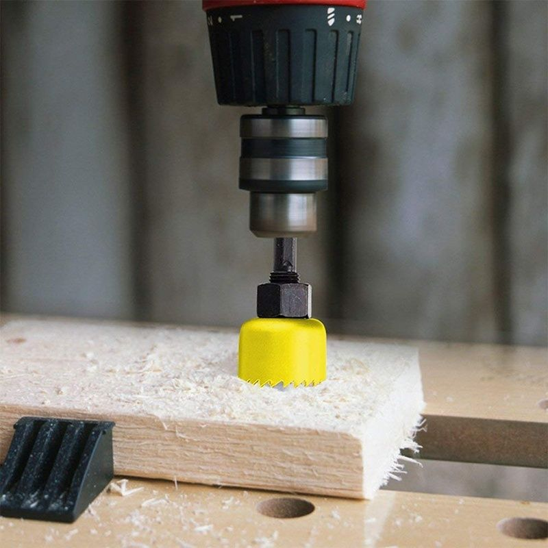 Hole Saw Drill Bit Kit Sheet Metal Cutter Metal Cutter Sheet Metal