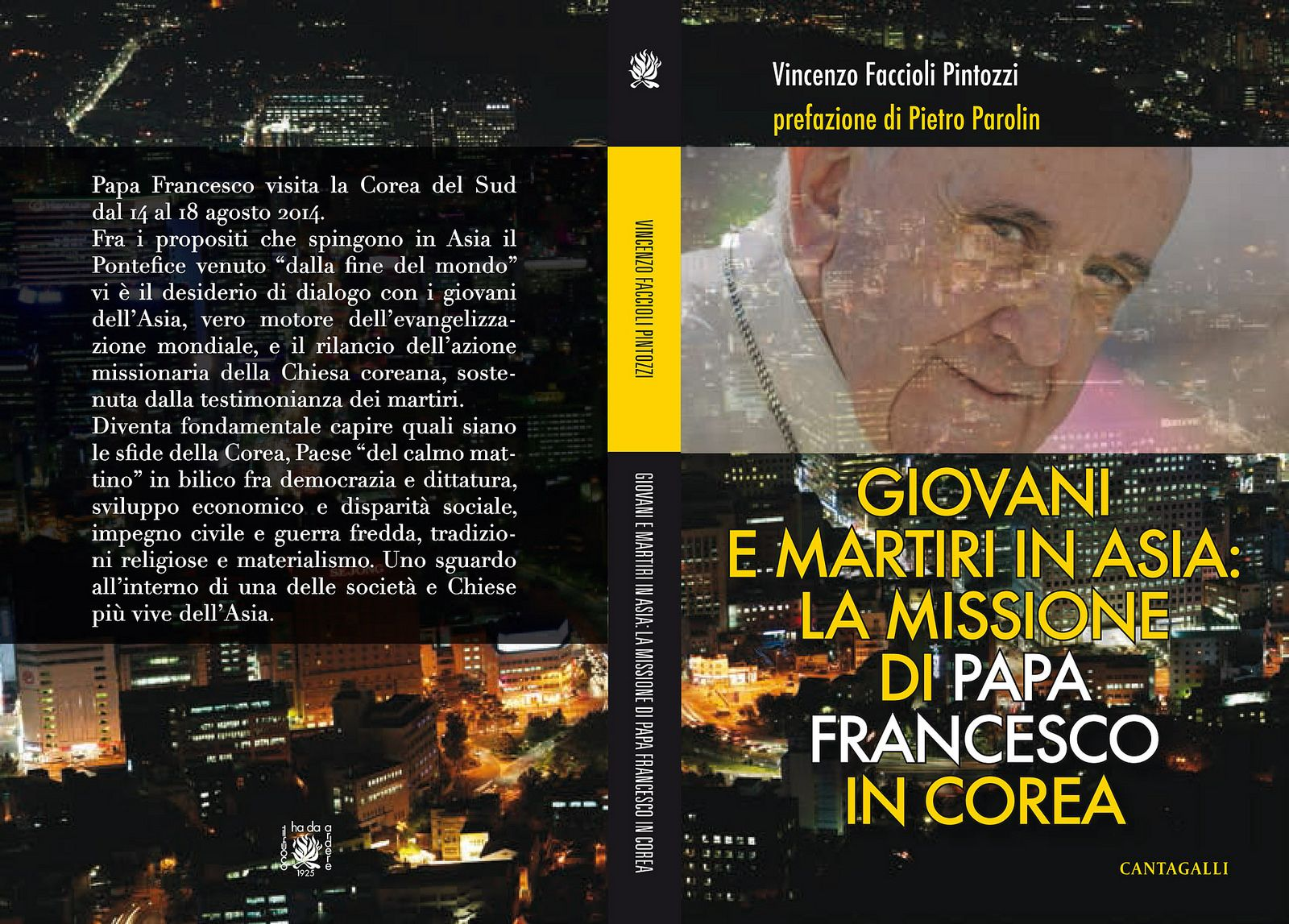"""Papa Francesco"", Corea, Asia"