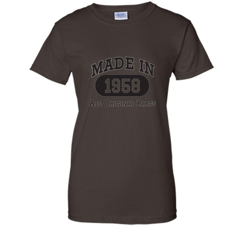 Born in 1958 T-shirt - hot trend birthday gift