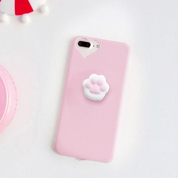 new style cfd84 a9130 Cute Squishy Cat Claw Case for iPhone 6 6S 7 Plus in 2019 | Products ...