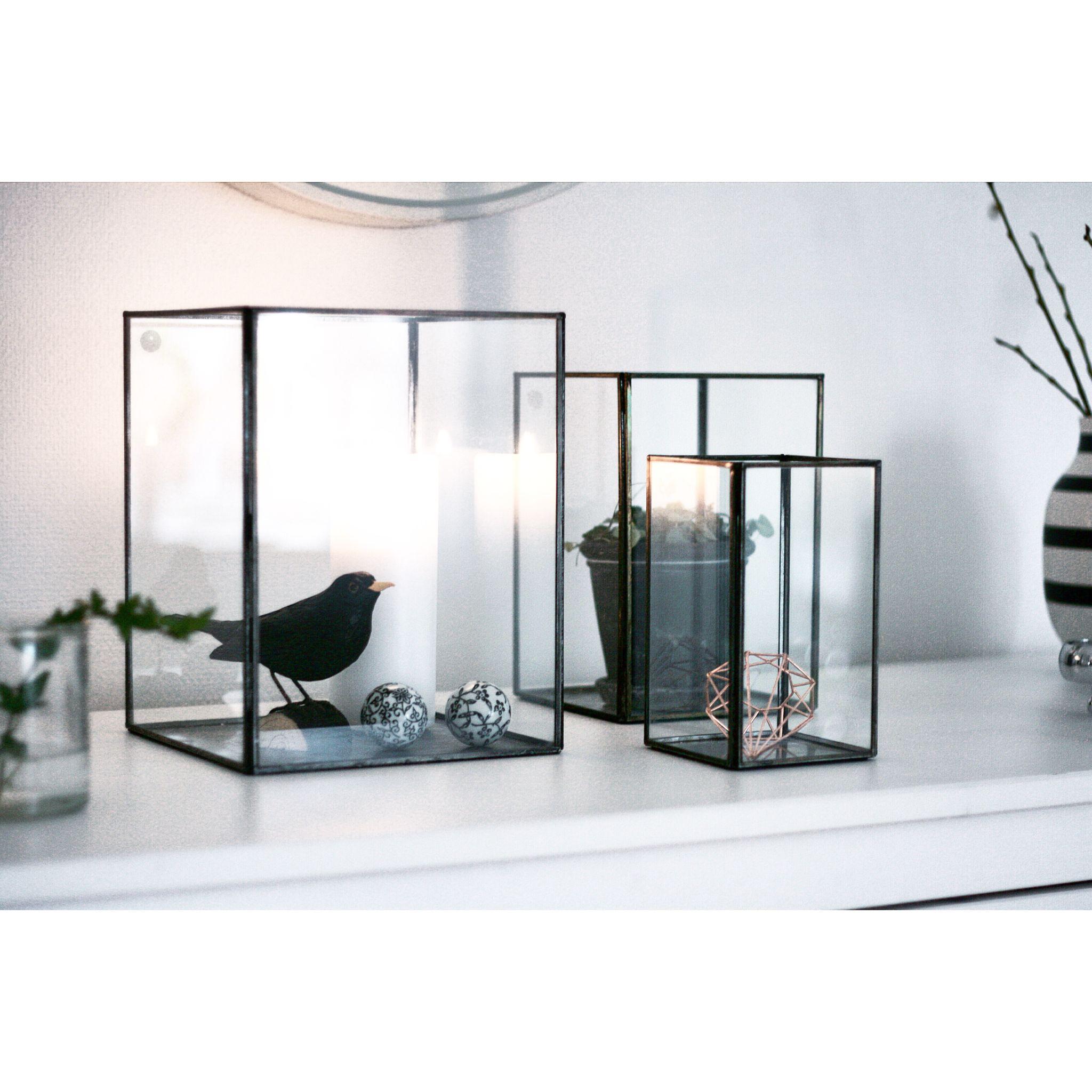glass boxes my home pinterest deko einrichtung und wohnzimmer. Black Bedroom Furniture Sets. Home Design Ideas