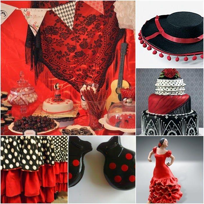Flamenco Sweet Fifteen Theme | Quince Candles | Wedding ...