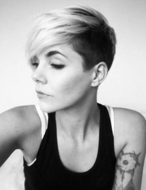 Pin By Kenna Wisdom On Short Hair Pinterest Hair Style - Undercut hairstyle diy