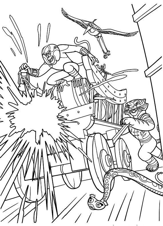 Guarda tutti i disegni da colorare di Kung Fu Panda www ...