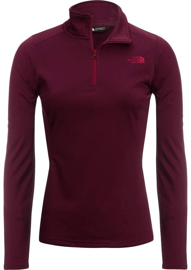 7bc801a4b7d58 The North Face Tech Glacier 1 4-Zip Pullover Fleece Jacket - Women s ...