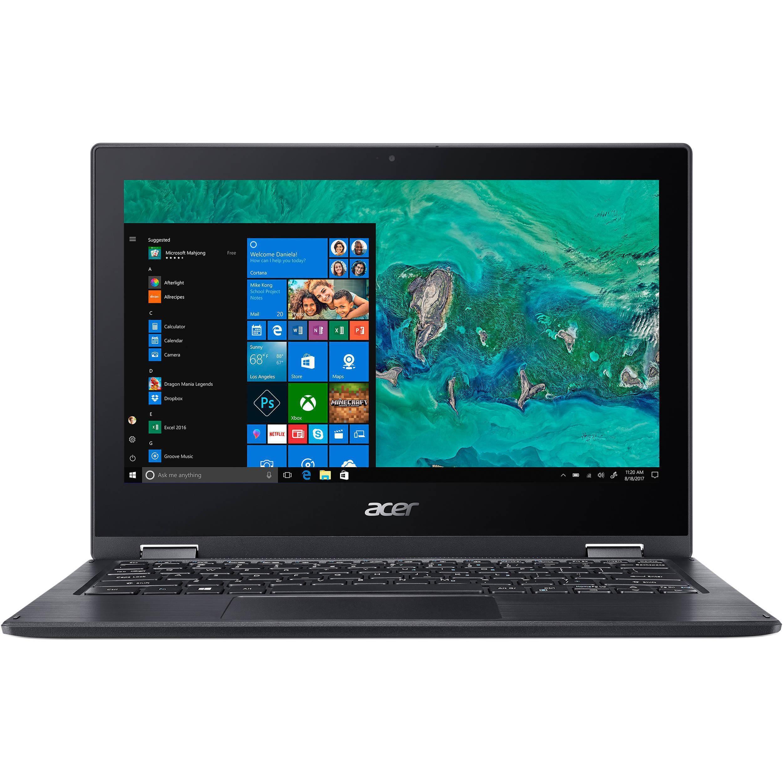 Acer Spin 1 11 2018 Pentium N5000 Ram 4 Gb Ssd 64 Gb