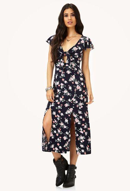 662730e3125691 Vestidos de moda Casuales para lucir a diario | Vestidos largos ...